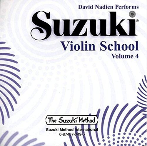 9780874873498: Suzuki Violin School, Volume 4 (CD)