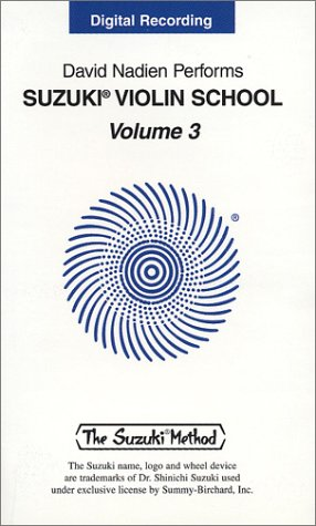 9780874873528: Suzuki Violin School, Volume 3: Digital Recording (Cassette)