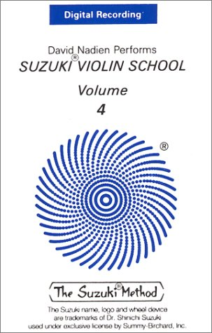 9780874873535: David Nadien Performs Suzuki Violin School, Volume 4