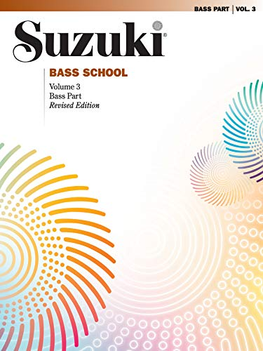 9780874873764: Suzuki Bass School, Vol 3: Bass Part