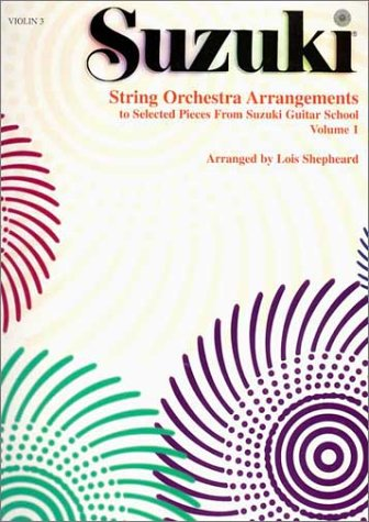 9780874873870: String Orchestra Arrangements to Selected Pieces from Suzuki Guitar School, Vol. 1