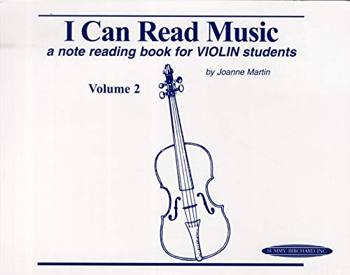 9780874874273: I Can Read Music: A Note Reading Book for Violin Students: 2