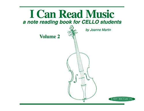 9780874874297: I Can Read Music, Vol 2: A Note Reading Book for Cello Students