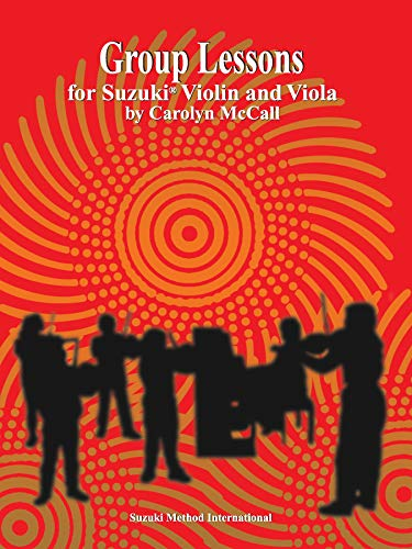 9780874874358: Group Lessons for Suzuki Violin and Viola