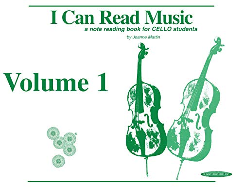 9780874874419: I Can Read Music: For Cello, Volume I