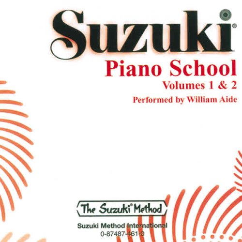 9780874874617: Suzuki Piano School, Volume 1 & Volume 2, Performed by William Aide