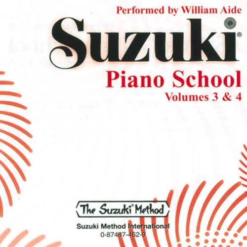 9780874874624: Suzuki Piano School, Vol 3 & 4