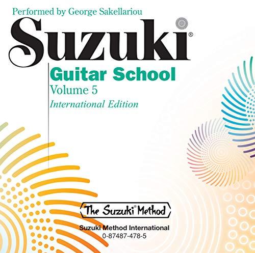 9780874874785: Suzuki Guitar School, Vol 5