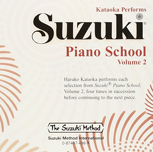 9780874874983: Suzuki Piano School Piano CD 2: Performed by Haruko Kataoka