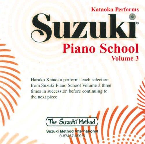 9780874874990: Suzuki Piano School, Vol 3