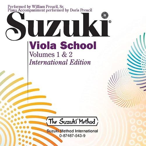 9780874875430: Suzuki Viola School CD 1+2: CD (Suzuki Method)