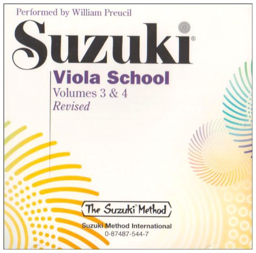 9780874875447: Suzuki: Viola School - Volume 3 and 4 CD: 3&4