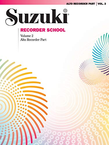 9780874875584: Suzuki Recorder School (Alto Recorder), Vol 2: Recorder Part