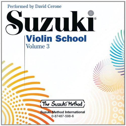 9780874875980: Suzuki Violin School, Vol 3