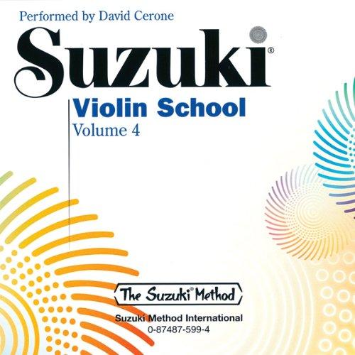 9780874875997: Suzuki Violin School 4 - David Cerone (CD) CD