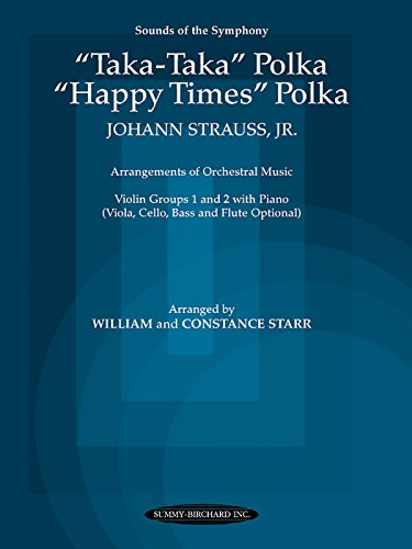 "Taka Taka Polka and """"Happy Times"""" Polka: Violin Groups 1 & 2 with Piano (..."