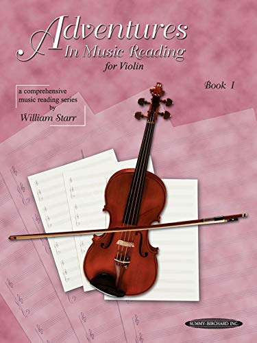 9780874876185: Adventures in Music Reading for Violin, Bk 1
