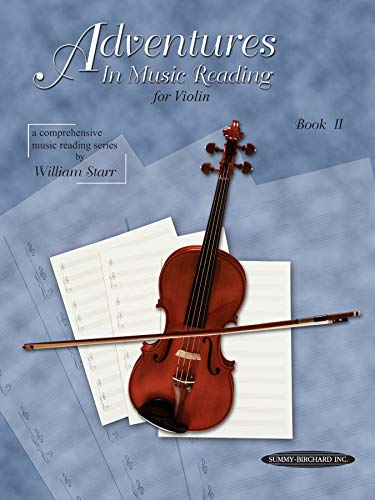 9780874876192: Adventures in Music Reading for Violin, Bk 2 (Comprehensive music reading series)
