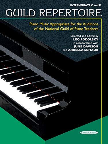 Guild Repertoire -- Piano Music Appropriate for