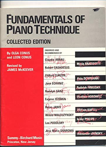 9780874876604: Fundamentals of Piano Techniques: Collected Edition