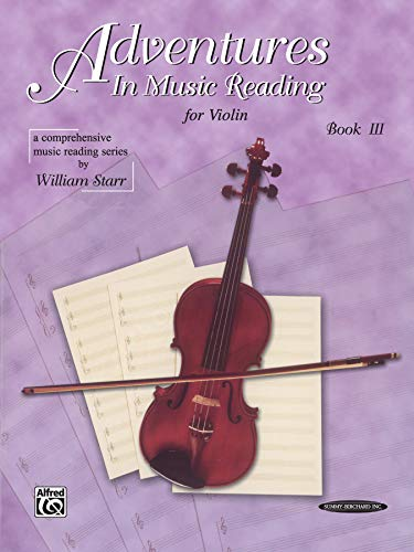 9780874876659: Adventures in Music Reading for Violin, Bk 3