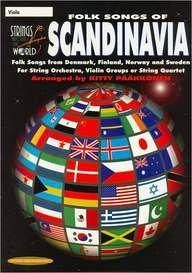 Strings Around the World -- Folk Songs of Scandinavia: Viola (9780874877595) by Kitty Pääkkönen