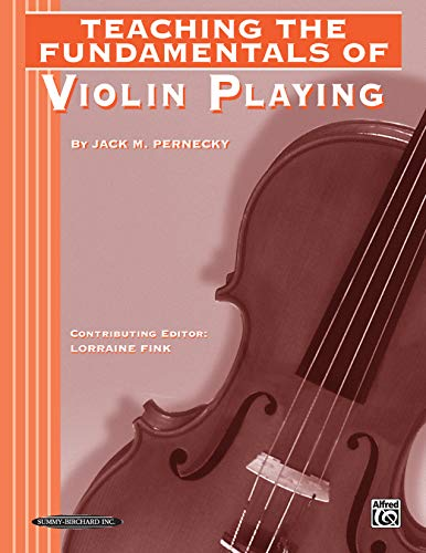 9780874877717: Teaching the Fundamentals of Violin Playing