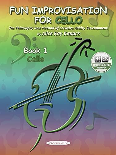 9780874877755: Fun Improvisation For...Violin, Viola, Cello, Piano: Creative Ability Development (Cello), Book & CD