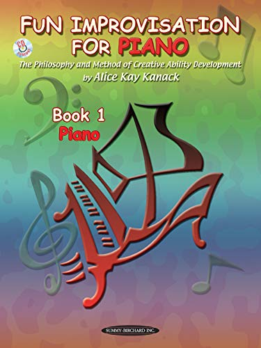 9780874877762: Fun Improvisation for Piano: The Philosophy and Method of Creative Ability Development, Book & CD (Suzuki Method Supplement) (Bk. 1)