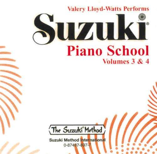 9780874878974: Suzuki Piano School, Vol 3 & 4
