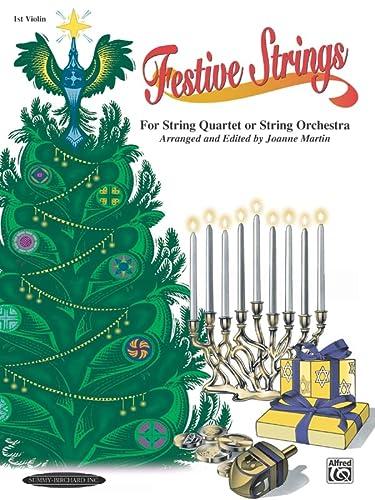 9780874879063: Festive Strings for String Quartet or String Orchestra: 1st Violin Part