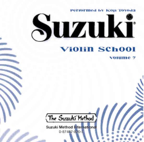 9780874879209: Suzuki Violin School Volume 7 CD