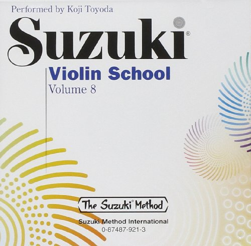 9780874879216: Suzuki Violin School, Vol 8 (Suzuki Method Core Materials)