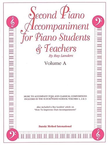 9780874879223: Second Piano Accompaniments, Vol A (The Suzuki Method Core Materials)