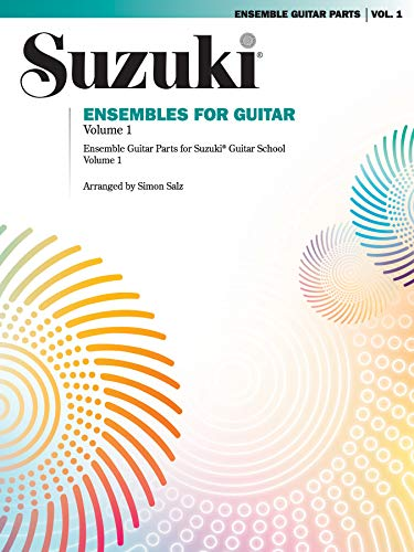 9780874879285: Ensembles for Guitar, Volume 1: Ensemble Guitar Parts for Suzuki Guitar School, Volume 1