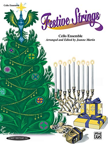 9780874879322: Festive Strings, Cello Ensemble