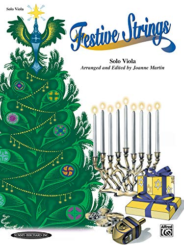 Festive Strings for Solo Instruments: Solo Viola: Joanne Martin