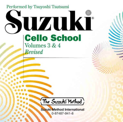 9780874879414: Suzuki Cello School: Volume 3 & 4