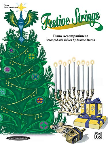 9780874879476: Festive Strings: Piano Acc. (works with all arrangements)