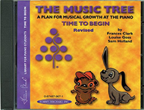 9780874879674: The Music Tree Accompaniment: Time to Begin