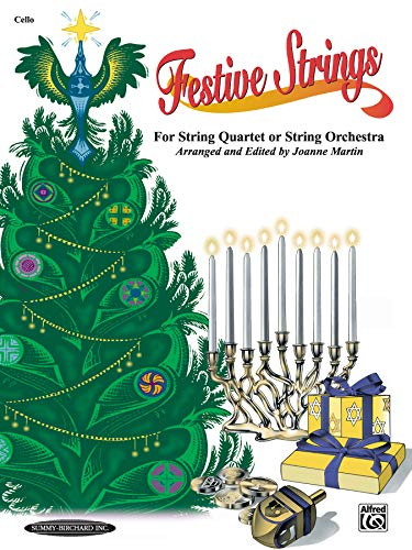 9780874879858: Festive Strings for String Quartet or String Orchestra: Cello, Part
