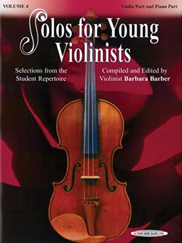 9780874879919: Solos for Young Violinists, Vol 4: Selections from the Student Repertoire