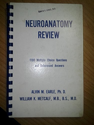9780874882186: Neuroanatomy review: 1,100 multiple choice questions and referenced answers