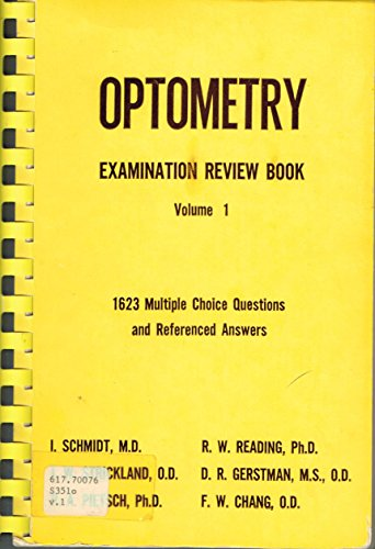 9780874884692: Optometry examination review book