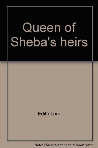 9780874910117: Queen of Sheba's heirs;: Cultural patterns of Ethiopia (Africana culture and history series, v. no. 1)