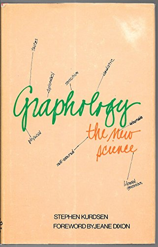 9780874913101: Graphology, the new science