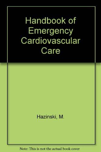 9780874934489: Handbook of Emergency Cardiovascular Care (Updated 2004)
