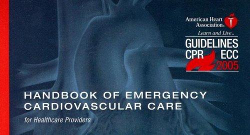 9780874934601: Handbook of Emergency Cardiovascular Care: for Healthcare Providers (AHA Handbook of Emergency Cardiovascular Care)