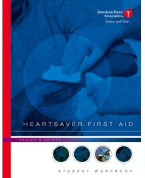9780874934779: Heartsaver First Aid - Student Workbook