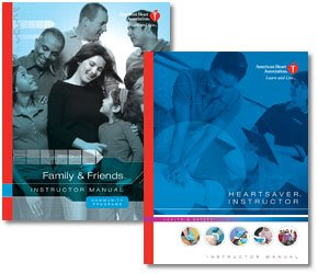 9780874934861: Heartsaver(R) And Family & Friends(TM) Instructor's Manual Set